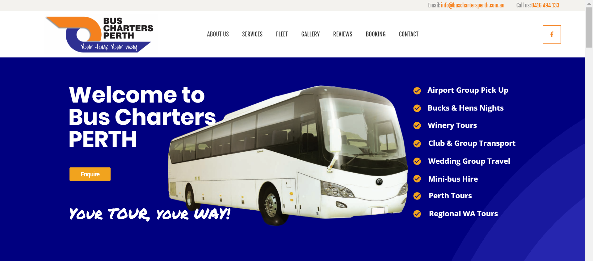 Bus Charters Perth